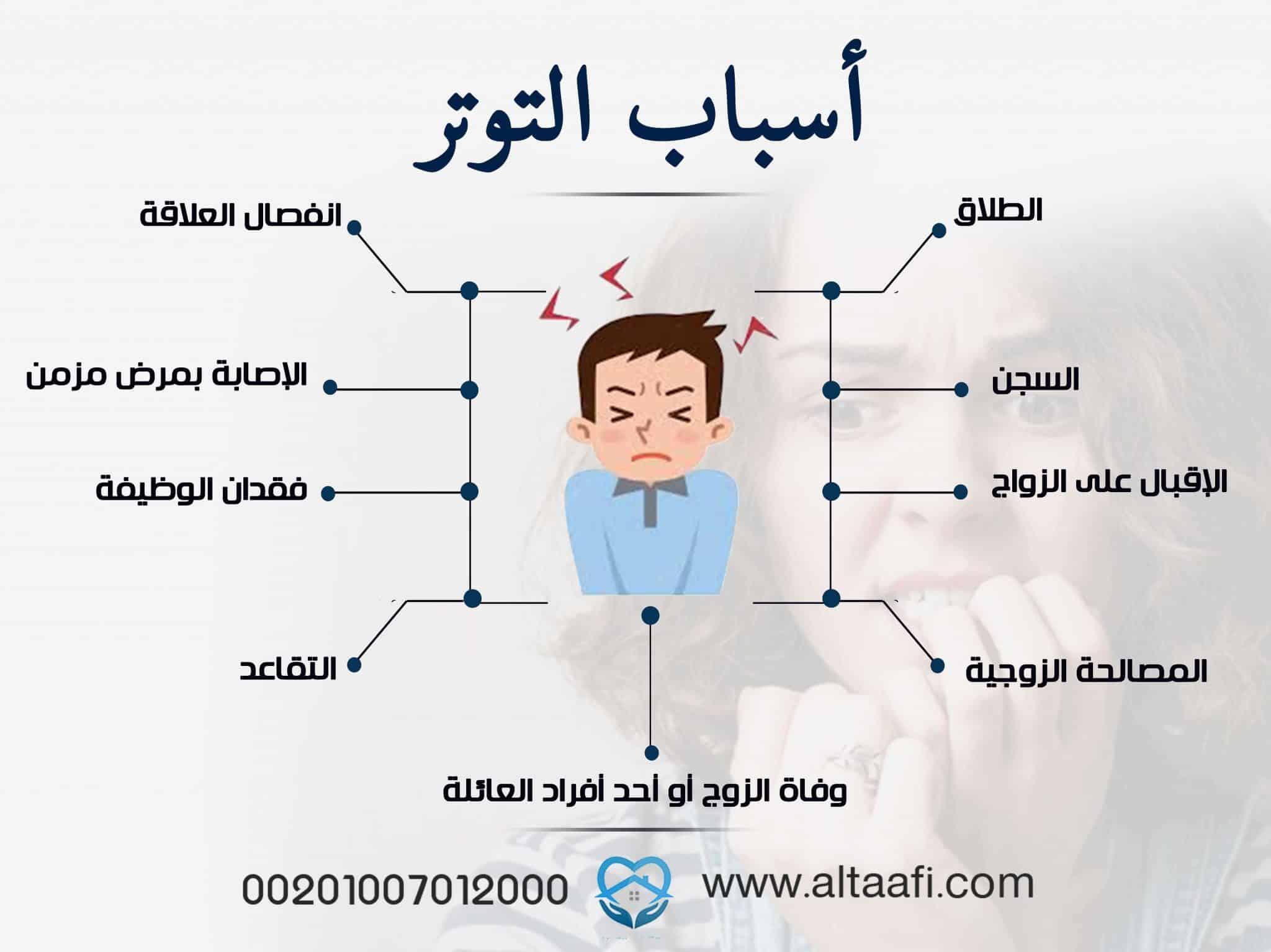 أسباب التوتر