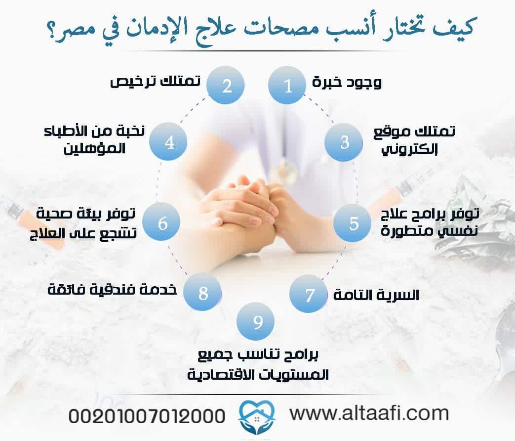 كيف تختار أنسب مصحات علاج الإدمان في مصر؟