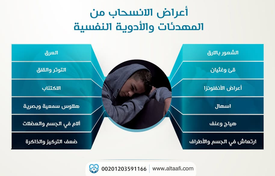 أعراض الانسحاب من المهدئات والأدوية النفسية