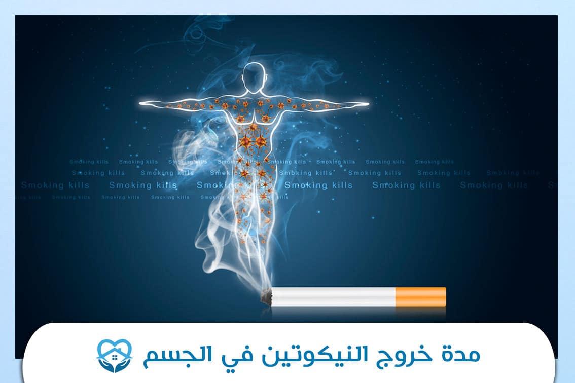 مدة خروج النيكوتين في الجسم