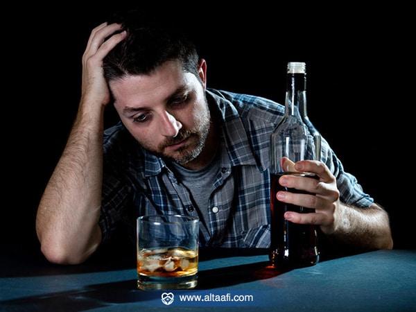 أعراض إدمان الخمر