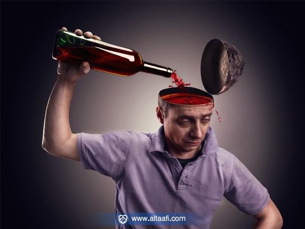 عوامل تزيد من تأثير الخمر على العقل