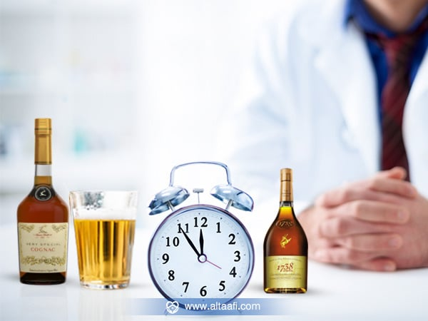 مدة بقاء مفعول الخمر في الجسم