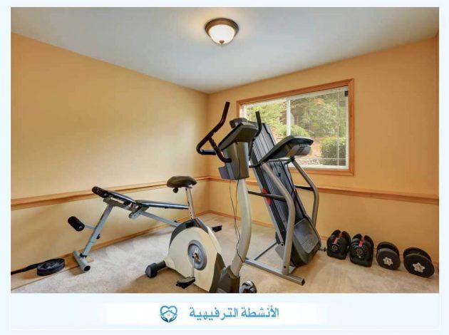 الأنشطة الرياضية في مستشفى علاج إدمان